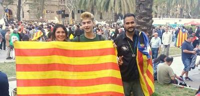 l'indépendance de la Catalogne À INDEPENDÊNCIA DA CATALUNHA independencia de Cataluña Free Catalonia Catalogne libre