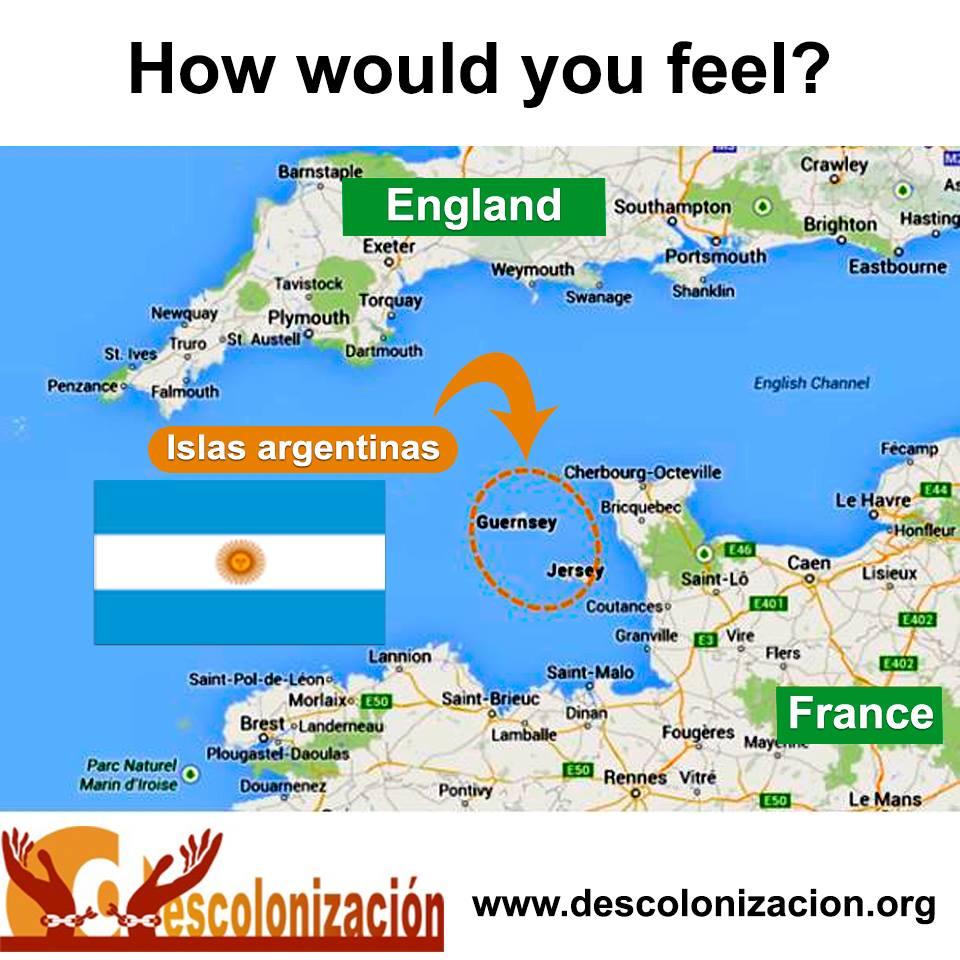 Et si les îles anglo-normandes étaient argentines ?